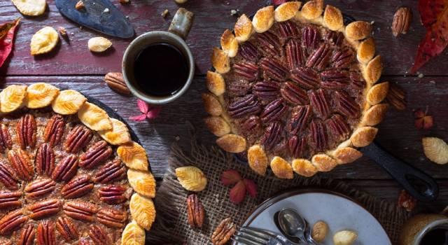 Pecan pie: come fare una buonissima crostata con noci pecan