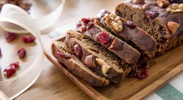 Plumcake con noci e cioccolato: morbido e buonissimo!