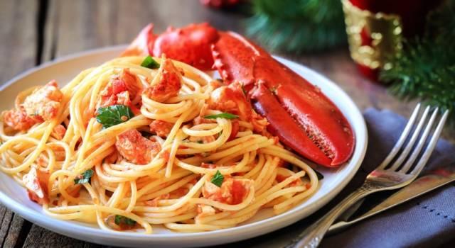 Spaghetti con polpa di astice: la ricetta per prepararli
