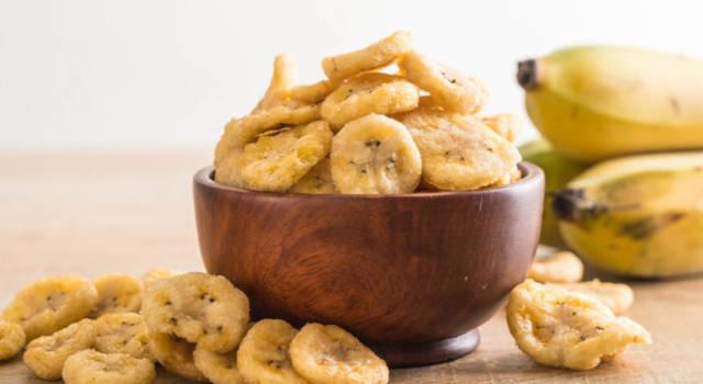 Banane fritte: da leccarsi i baffi!