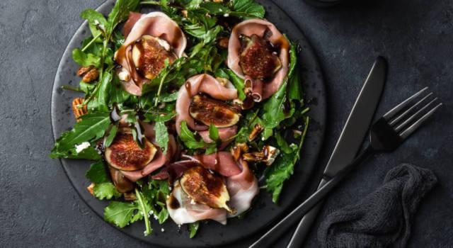 Insalata di fichi e prosciutto: un piatto fresco e veloce
