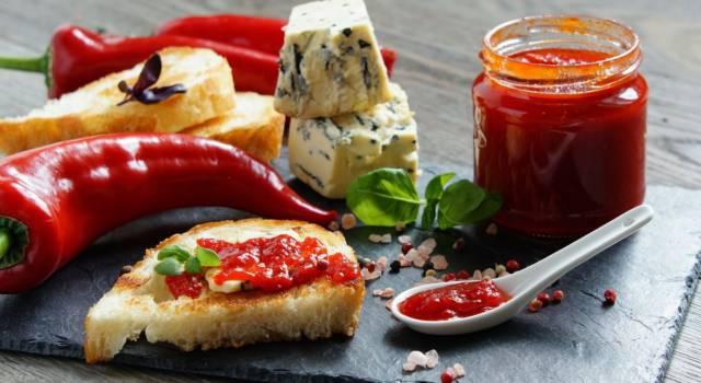 Marmellata di peperoni: una ricetta davvero appetitosa