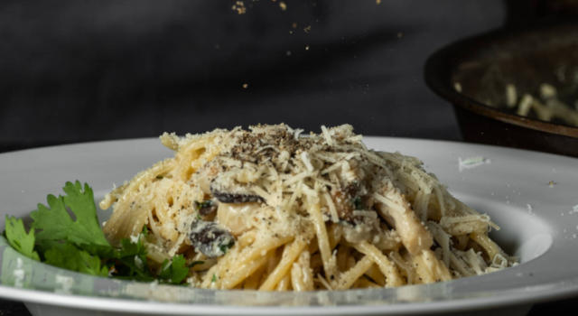 Carbonara vegetariana: la versione vegetale del piatto tradizionale romano