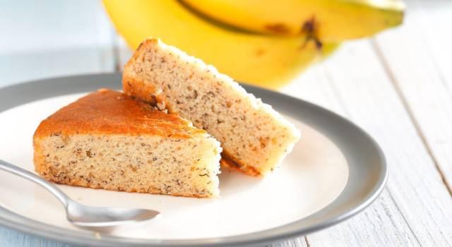 Torta alla banana: morbida, gustosa e facile da preparare