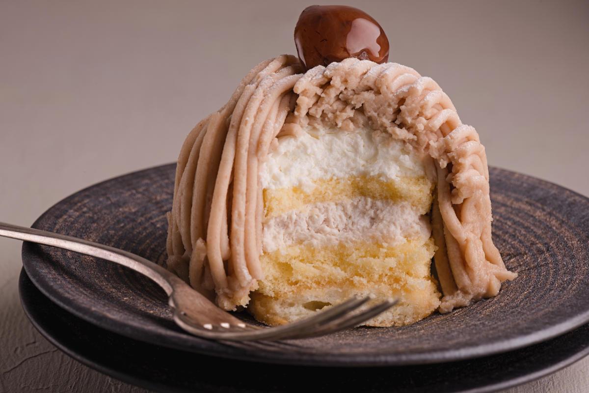 Torta Monte Bianco dolce