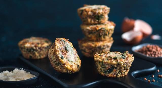 Tortino di amaranto: la ricetta senza glutine con spinaci