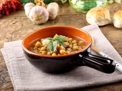 Zuppa di ceci: un piatto caldo spettacolare!