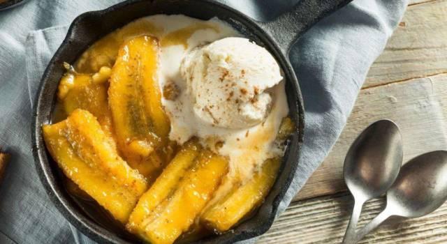Banana flambé: semplicemente… deliziosa!