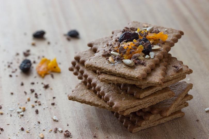 Biscotti con farina di castagne senza glutine