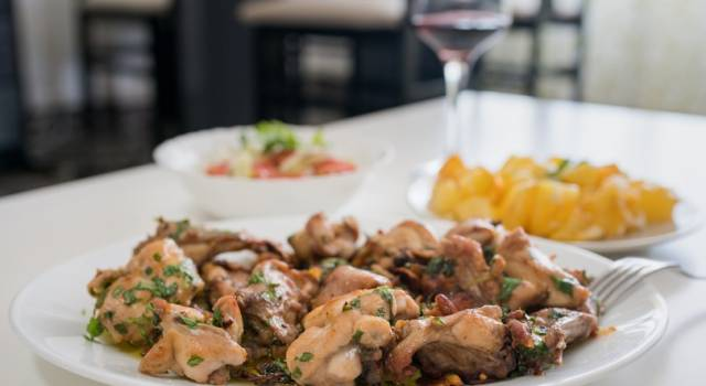 Coniglio alla reggiana: un buonissimo secondo piatto tipico!
