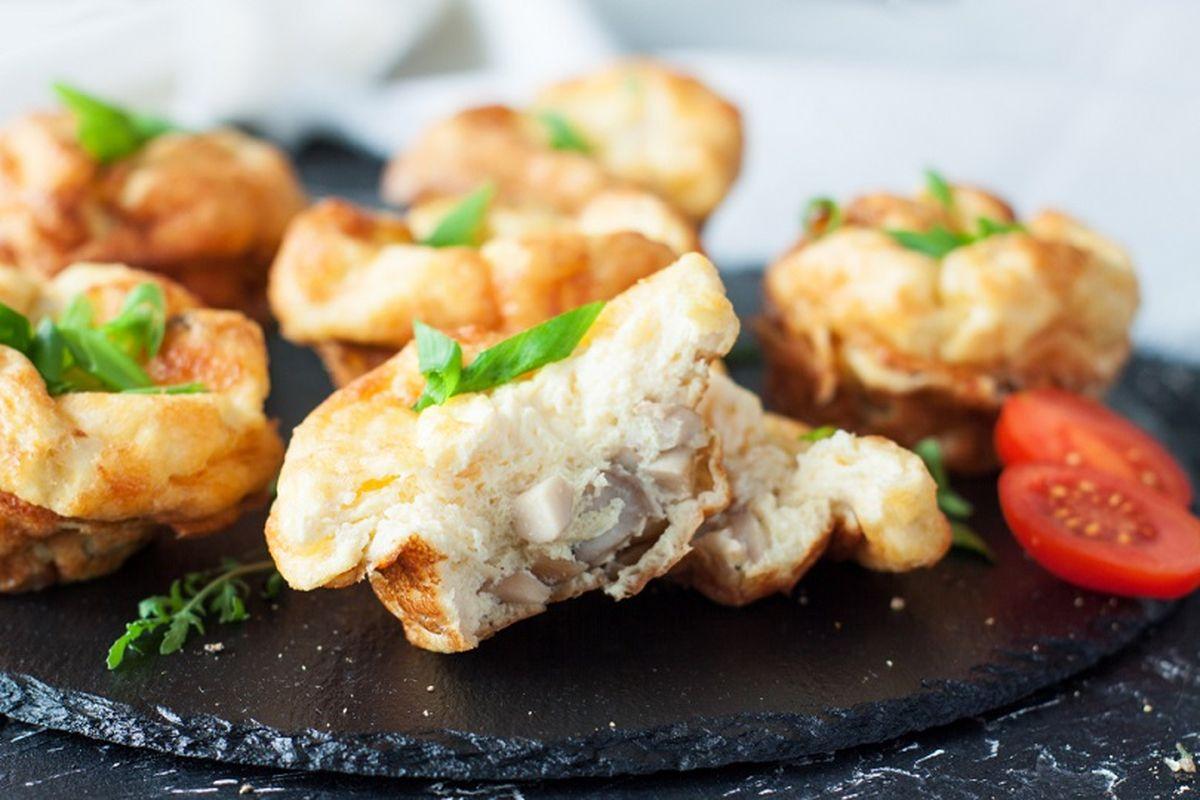 Muffin ai funghi