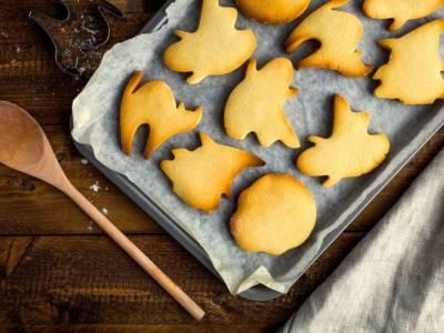Biscotti alla zucca a tema Halloween: da fare con i bambini!