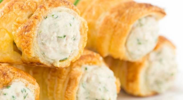 Cannoli salati con gorgonzola e noci: la ricetta golosa per l'aperitivo