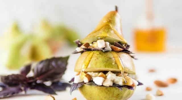 Finger food salati con frutta: la ricetta con le pere!
