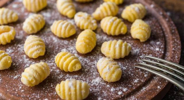 Pasta fatta in casa, ma senza glutine? Ecco gli gnocchi di grano saraceno