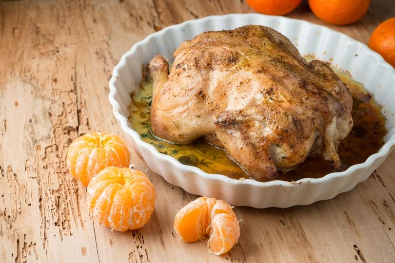Pollo ai mandarini