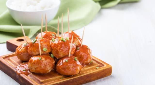 Polpettine di carne per l'antipasto: buonissime!