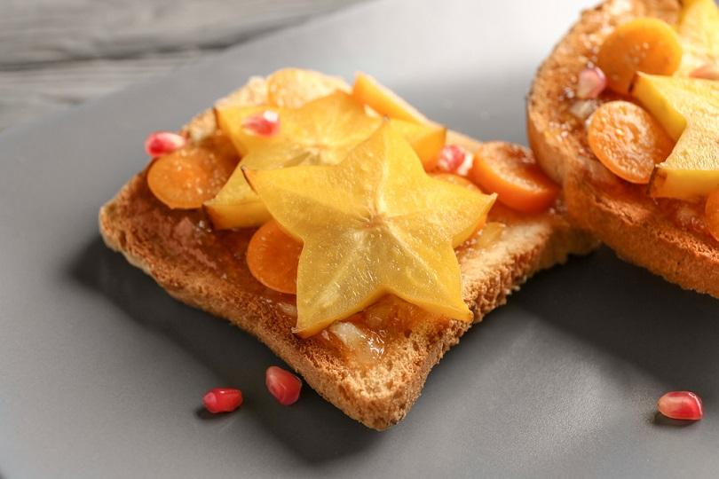 Toast alla frutta