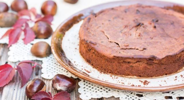Volete un dolce davvero originale? Provate la torta di castagne