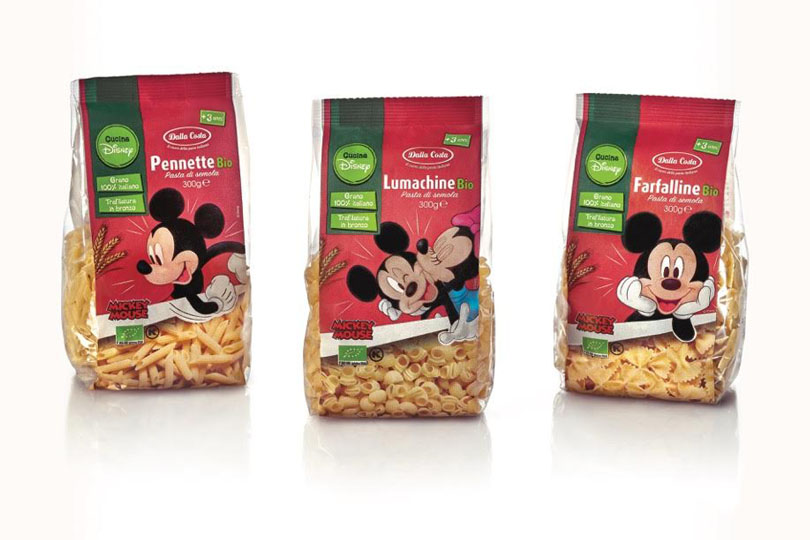 Pasta Dalla Costa per Mickey Mouse