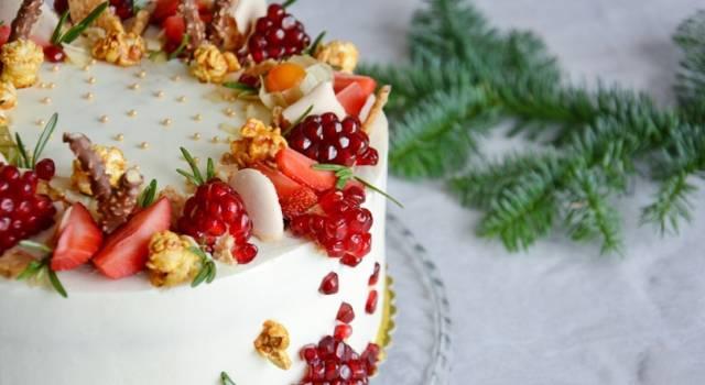 Buonissimo dolce al cioccolato bianco e frutti rossi: una torta di grande effetto!