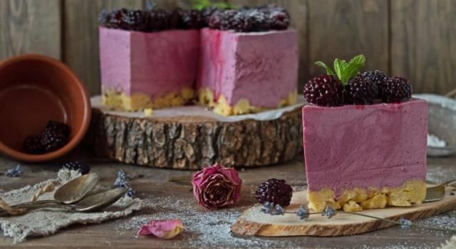 Torta ai frutti di bosco: un dolce elegante e buonissimo!