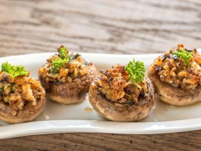 Funghi gratinati senza glutine, un piatto da sogno!