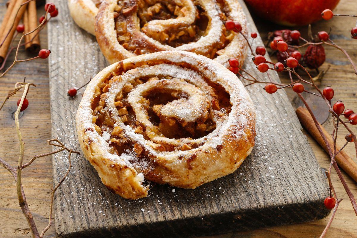 girelle di pasta sfoglia e Nutella