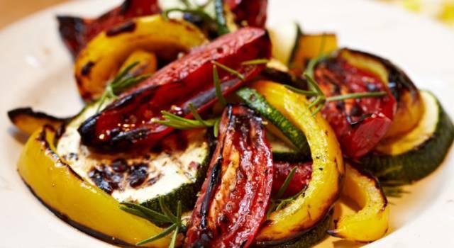 Insalata di verdure grigliate: il contorno perfetto!