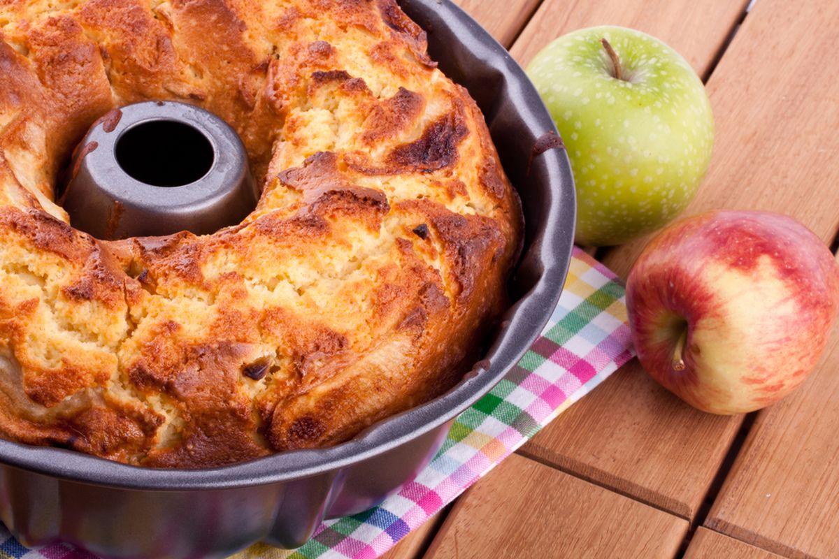 Torta mele e mascarpone