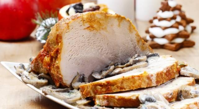 Arrosto con contorno di funghi: un secondo piatto per tutta la famiglia!