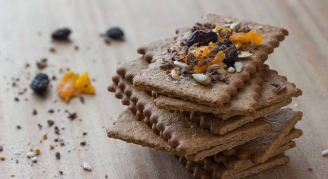 Biscotti con solo farina di castagne senza glutine e cacao: che buoni!