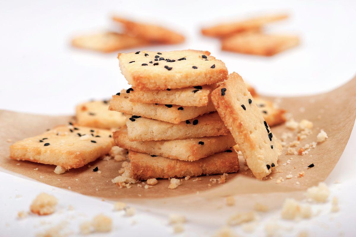Biscotti salati senza glutine