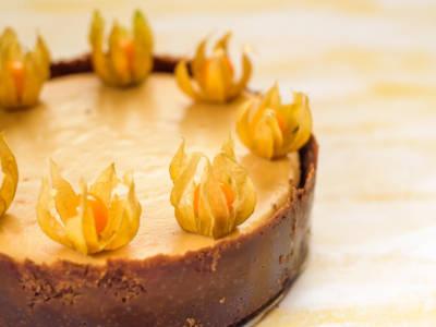 Vi è avanzata della zucca? Provate questa cheesecake (senza cottura)!