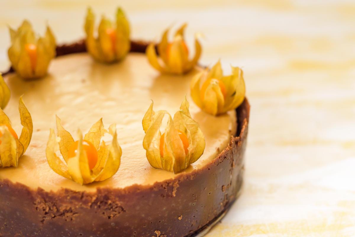 Cheesecake alla zucca