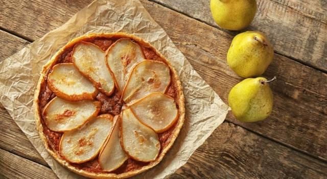 Crostata vegana alle pere: un buonissimo dolce di stagione!