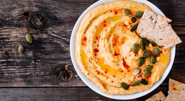 Hummus di zucca al profumo di zenzero: un piatto vegano e delizioso!