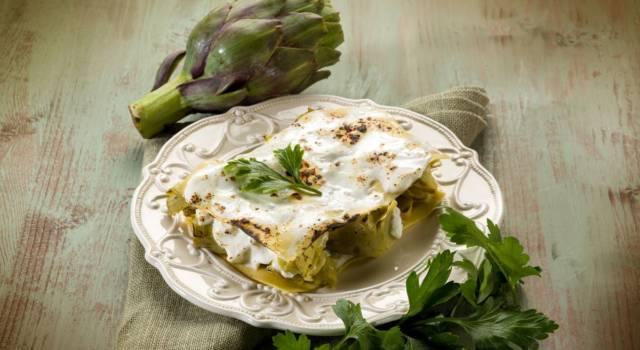Lasagne ai carciofi, un piatto che convince!
