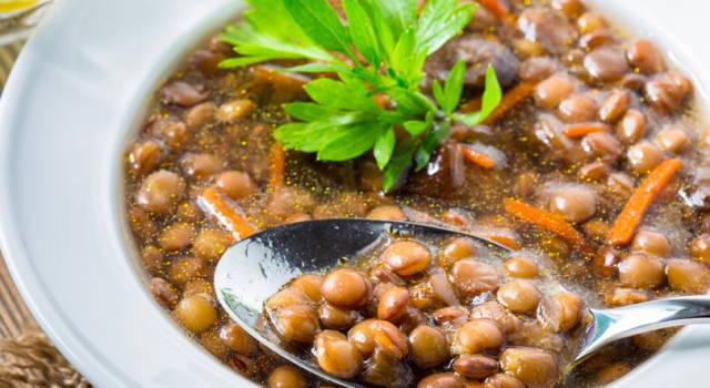 Il modo corretto e i segreti per cucinare le lenticchie