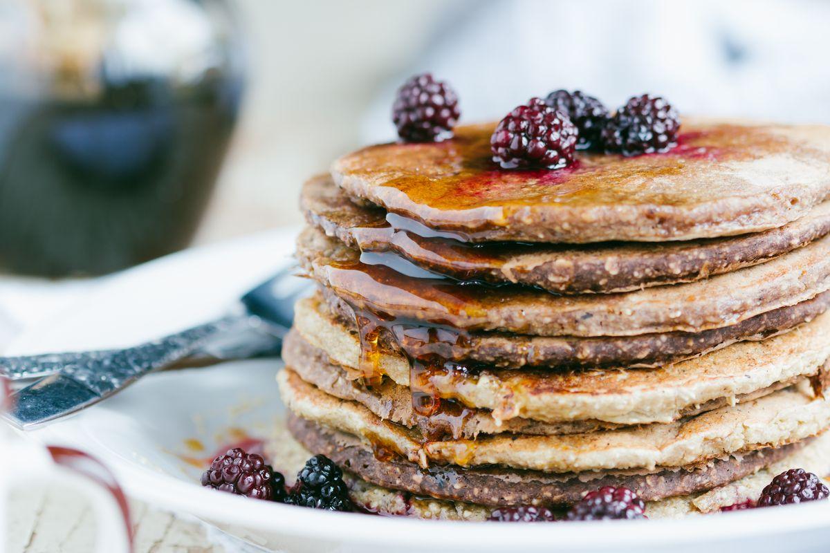 pancake vegan integrali