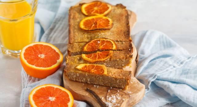 Buonissima torta con farina di cocco e arancia: ingredienti e ricetta!