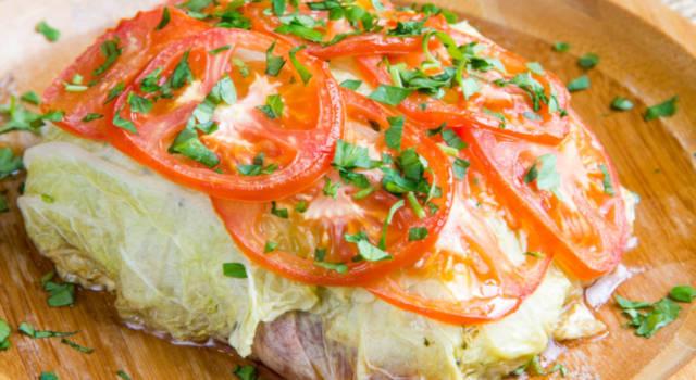 Verza ripiena: la ricetta al forno con carne