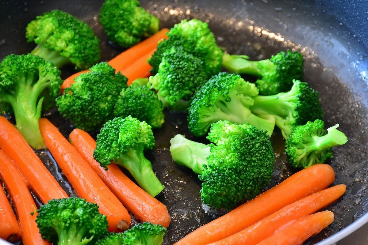 carote e broccoli
