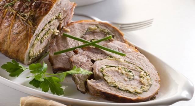 Arrosto di maiale farcito con spinaci al forno: una ricetta ideale per la cena!