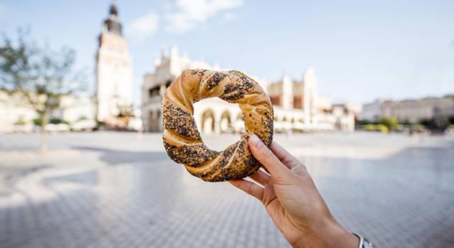 Obwarzanek: le ciambelle di pane tipiche della Polonia