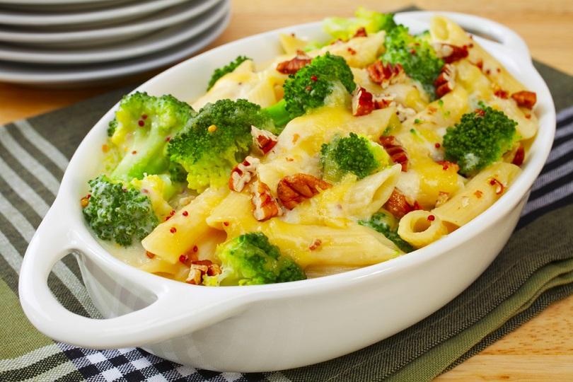 Pasta con broccoli gratinata