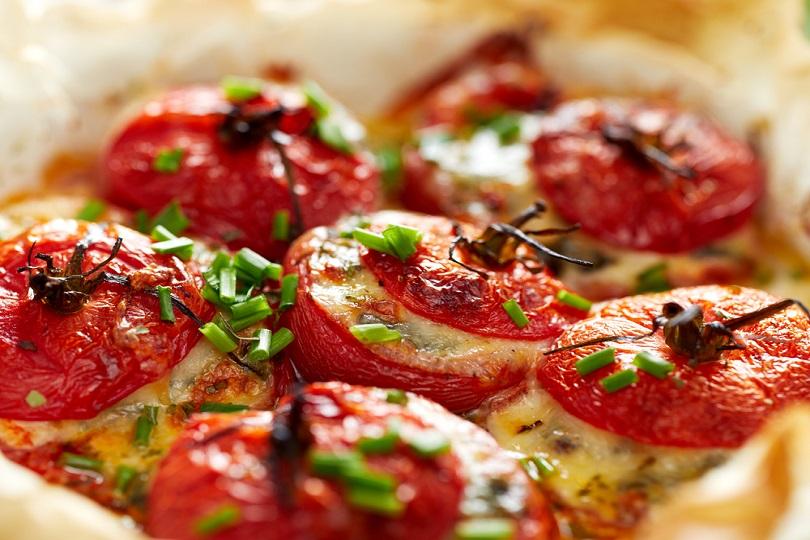 Pomodori ripieni con formaggio
