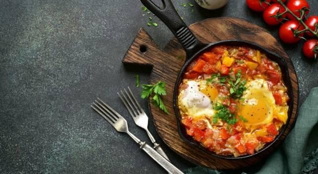 Uova strapazzate con i peperoni, una ricetta davvero facile