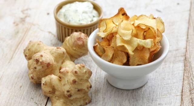 La ricetta dei topinambur fritti, per chips croccantissime!
