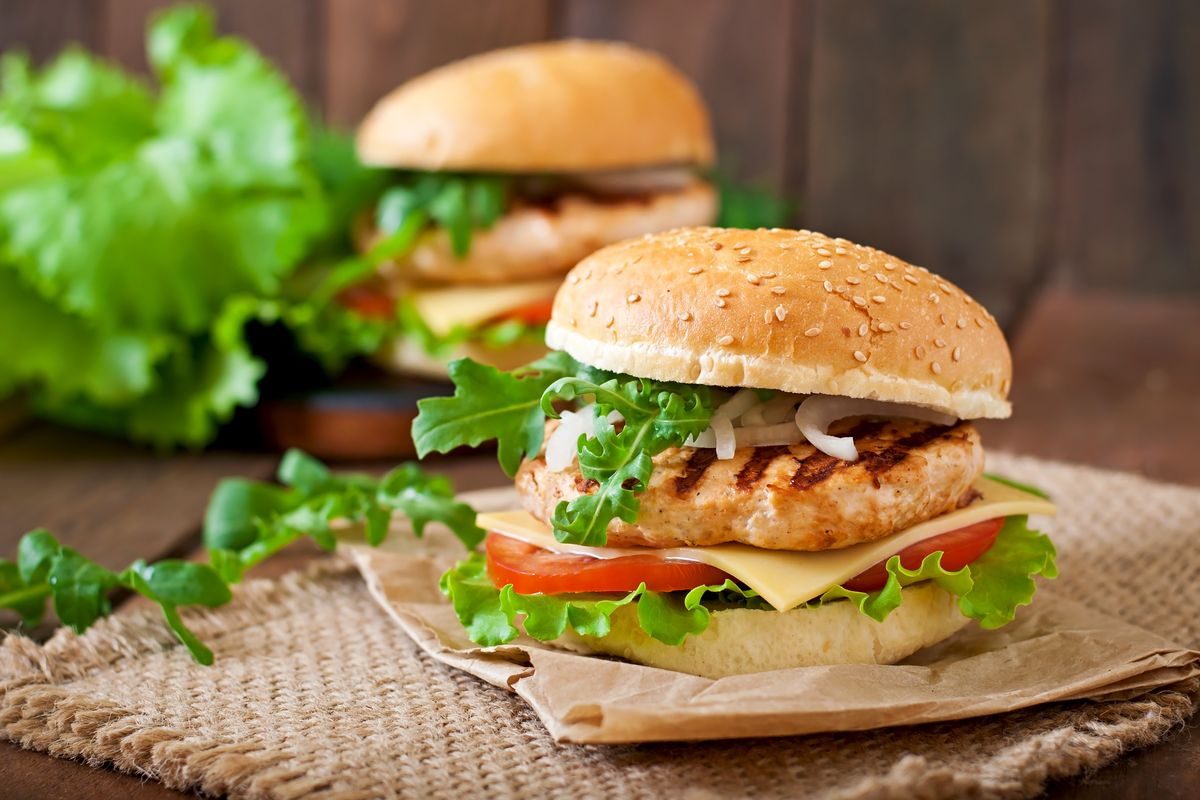 Hamburger di pollo